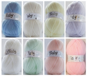 Woolcraft Babycare 4 Ply 100g
