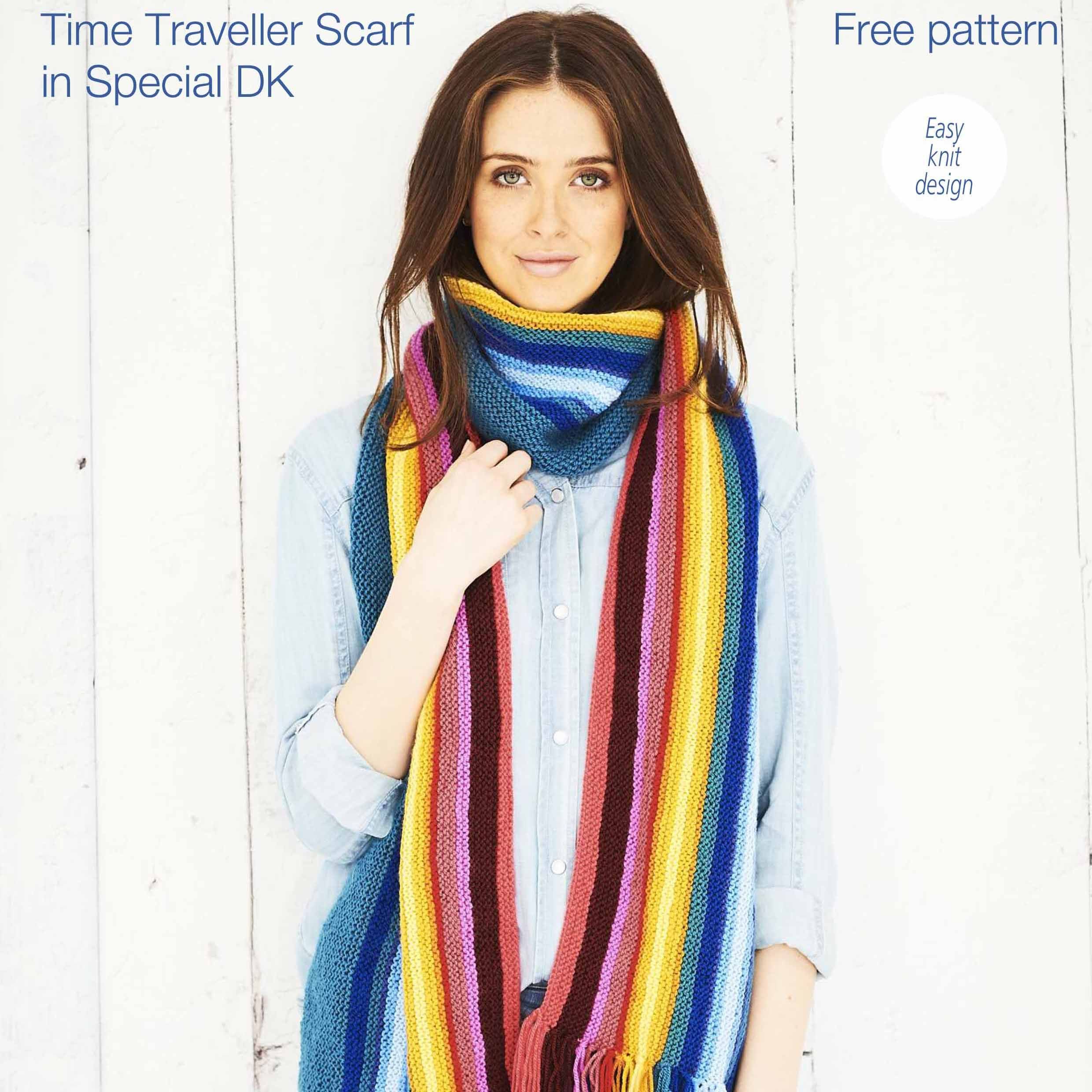 Free Knitting Pattern - Scarf