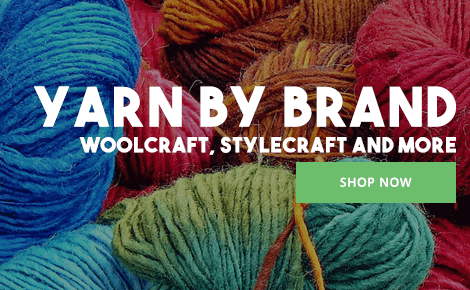 Yarn by brand - Woolcraft, Stylecraft and More - Shop Now